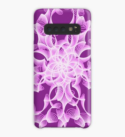 Abstract flower in lilac Case/Skin for Samsung Galaxy