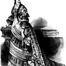 Victorian Lady in Ball Gown 1 by VictorianTrends