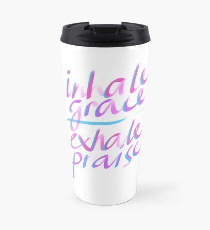 Inhale Grace Exhale Praise Christian Gift by TCC Publishing  Travel Mug