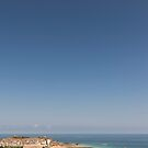 St Ives in Summer by Carolyn Eaton