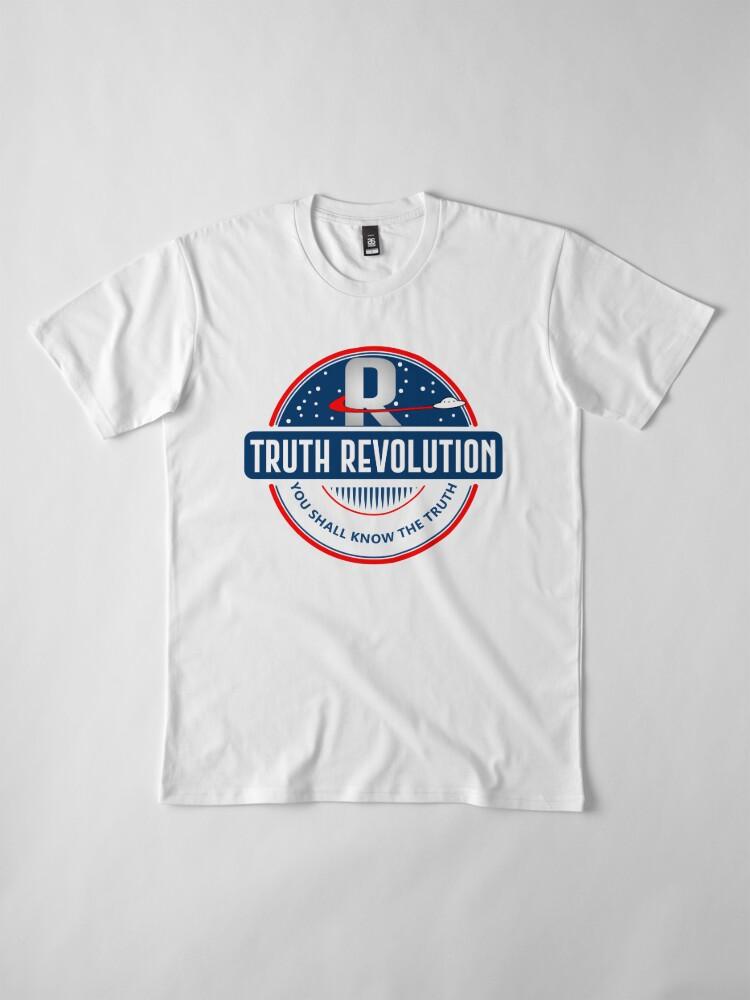 Alternate view of Truth Revolution Main Logo  Premium T-Shirt