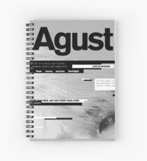 Agust D Spiral Notebook