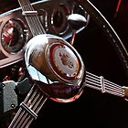 1937 Model 1508 Automobile Steering Wheel by DebiDalio