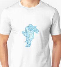 Yeti or Abominable Snowman Mono Line Unisex T-Shirt