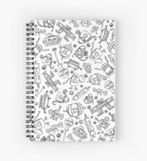 Monster Halloween Candy Bots COLORING BOOK // Fall Holiday Themed Candy Shaped Robots // Nerdy Halloween Spiral Notebook