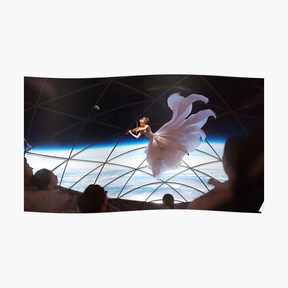 Eine Performance in SpaceXs BFR Poster