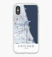 Chicago City Map USA Illinois iPhone Case