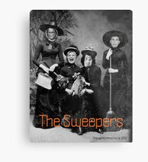 The Sweepers Metal Print