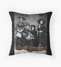 The Sweepers Throw Pillow