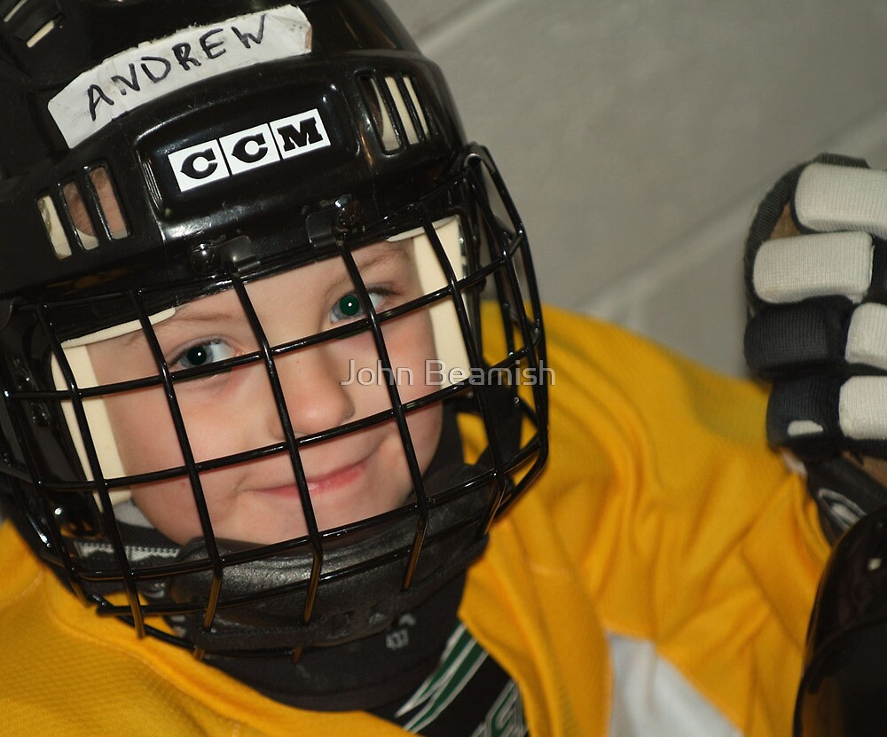 Andrew...Hockey Player by John Beamish