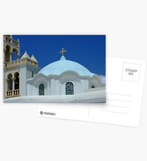 Dome of Panagia Evangelistria (Our Lady) of Tinos church Postcards