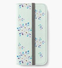 Nordische Ruhe iPhone Flip-Case/Hülle/Klebefolie
