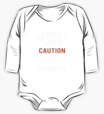 Scary Cricket Coach Gift Design One Piece - Long Sleeve