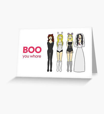 Mean Girls Halloween Greeting Card
