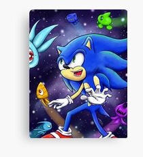 Sonic & The Wisps Canvas Print