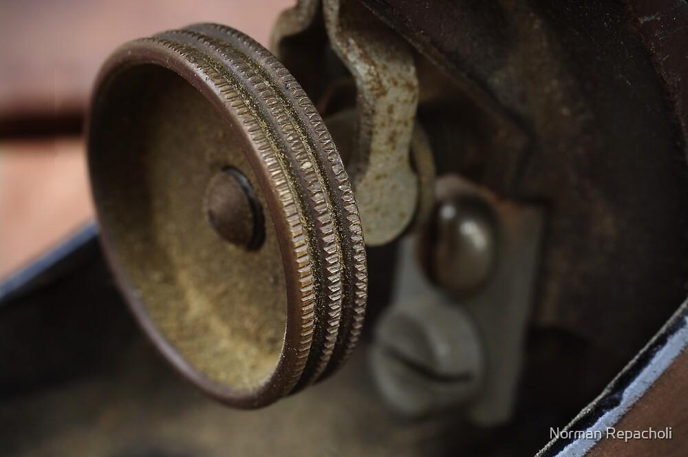 Old Friend - Thumbwheel by Norman Repacholi