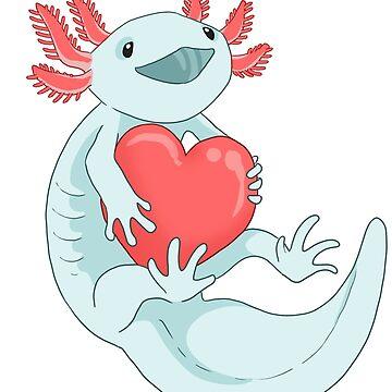 Happy Axolotl frand! by MistyFigs