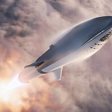SpaceX's BFR Lift-Off by bobbooo