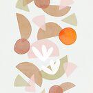 Minimal Autumn Dance 1 #abstractart #minimalist by Dominiquevari