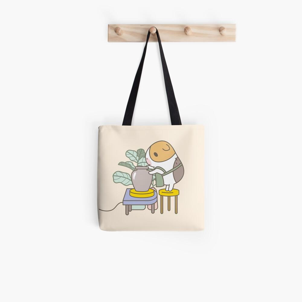 Bubu the Guinea Pig, Potter Tote Bag