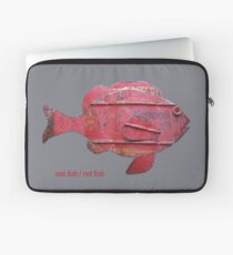 ONE FISH, RED FISH Laptop Sleeve