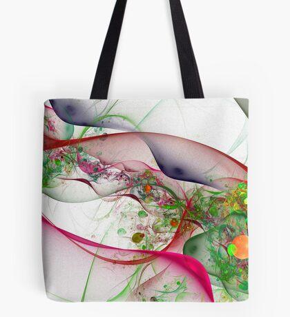 Silk and Bubbles Tote Bag