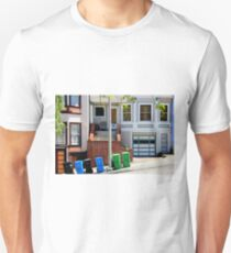 That Gray Plastic Chair - Garbage Day T-Shirt
