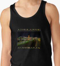Adelaide Riverbank at Night III (poster on black) Tank Top