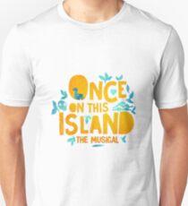 Camiseta ajustada Una vez en esta isla