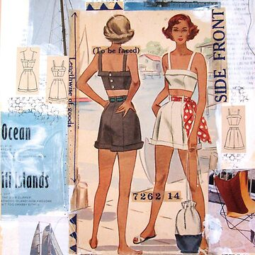 50s Sun Suit Collage by collageDP