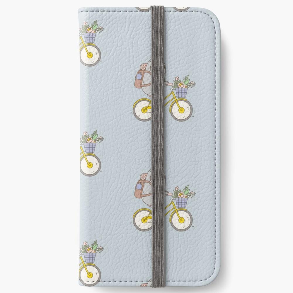 Biking Sloth  iPhone Wallet