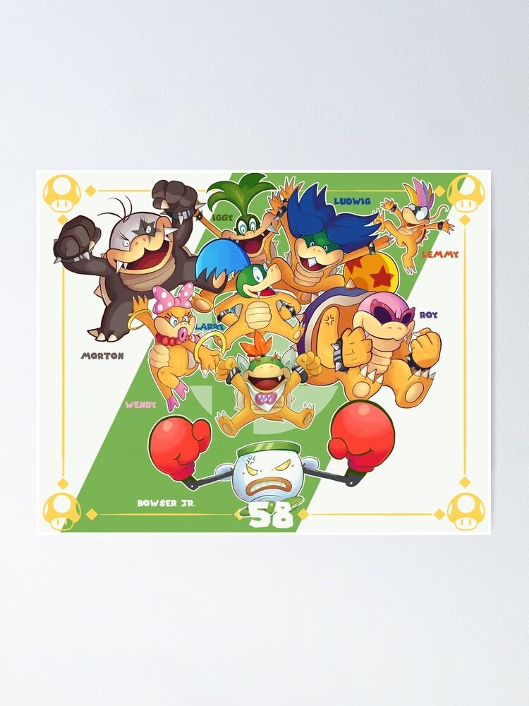 Smash Ultimate 58 Bowser Jr Poster