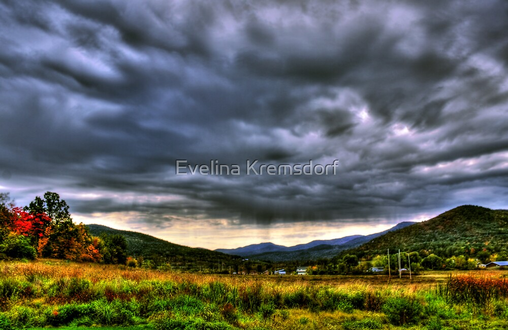 Stormy Skies by Evelina Kremsdorf