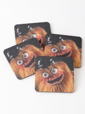 """Flyers New Mascot """"Gritty"""" Coasters"""
