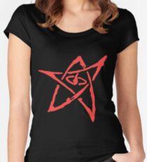 Elder Sign (Transparent Background) Women's Fitted Scoop T-Shirt
