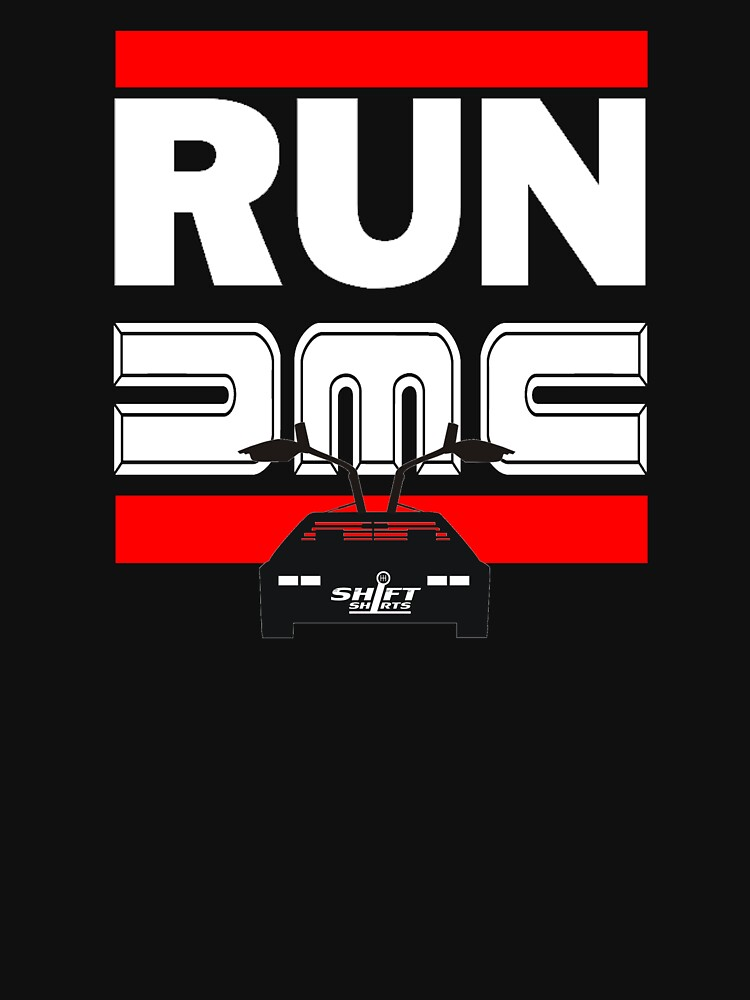 Run Delorean - DMC Inspired by ShiftShirts