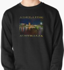 Adelaide Riverbank at Night VI (poster on black) Pullover