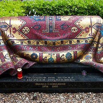 Rudolf Nureyev's Magic Carpet by redqueenself