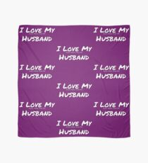 I Love My 'Shoes More Than My' Husband Scarf