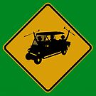 Party Cart Crossing by Randy Turnbow