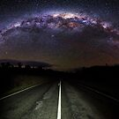 The Milky Highway  by James Garlick
