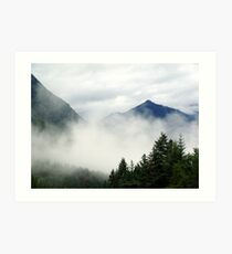 Mt. Terry Fox Art Print