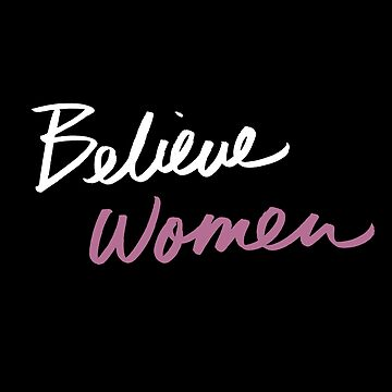 BELIEVE WOMEN X WHITE AND PINK by queendeebs