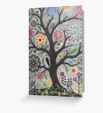 Tree Mural Greeting Card