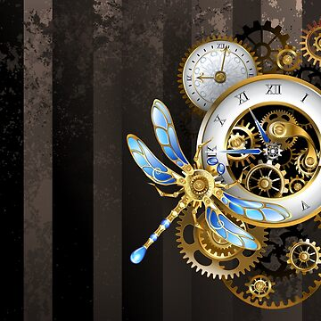 Steampunk Dials with Dragonfly by Blackmoon9