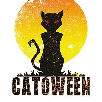 Halloween Catoween - Cat Halloween by Dubbra