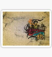 Illustration Valentino Sticker