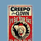 Creepo the Clown by adamcampen