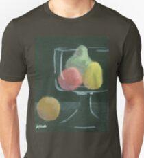 Abstract Fruit on Dark Background Still life T-Shirt