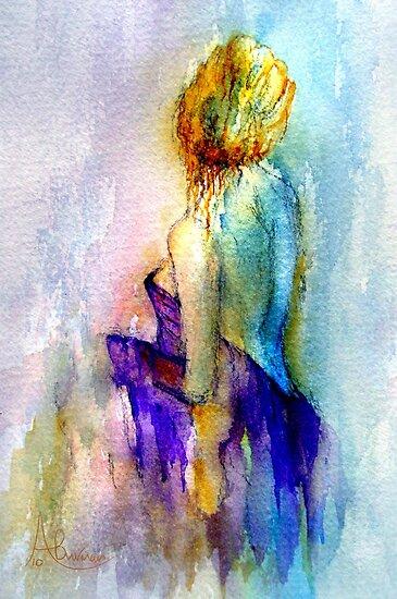 The Glow by Angela  Burman